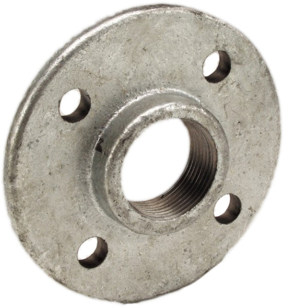 Flange Malleable Galvanised (screw on) Table E