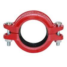 "50mm (2"") Roll Grooved Coupling - Painted Steel"