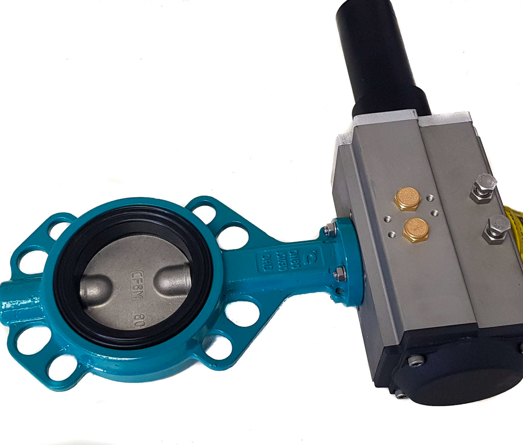 Hydraulic Butterfly Valve Double Acting (DA)