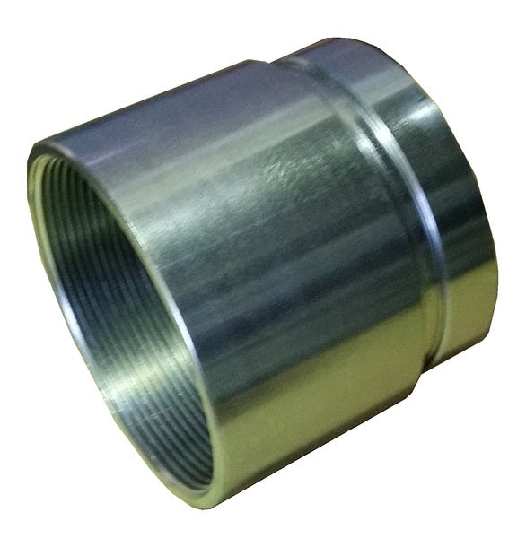 "80mm (3"") Roll Grooved Nipple Female (BSPT) - Steel"