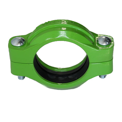 "80mm (3"") Roll Grooved Coupling - Aluminium"