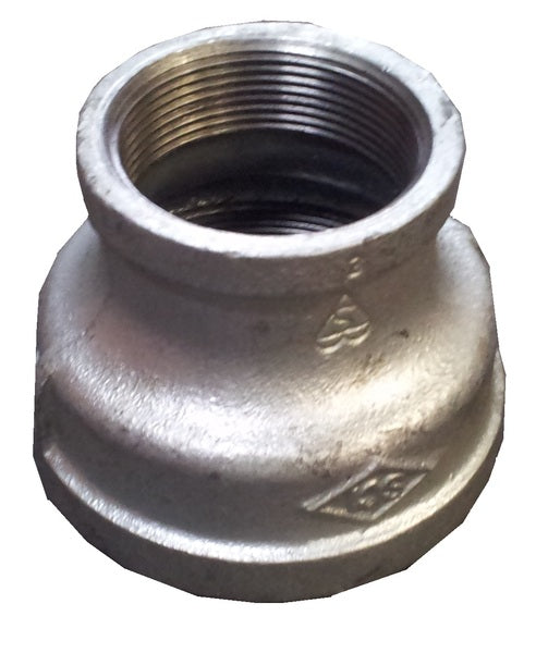 "Concentric Reducing Socket 80mm to 50mm (3"" to 2"") - Gal Mal"