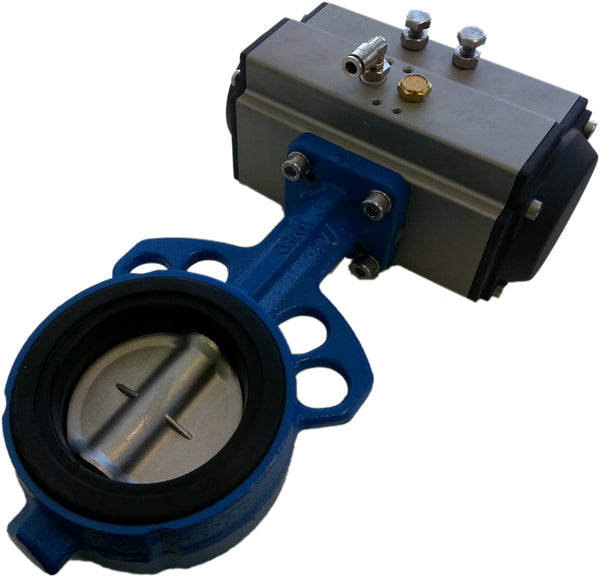 Butterfly Valve Double Acting (DA), Air Actuated
