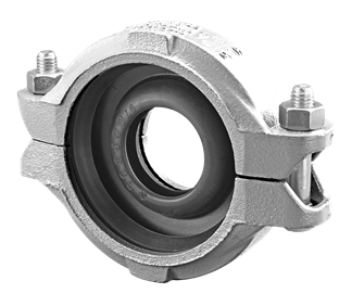 "Reducing Roll Grooved Coupling 100mm (4"") to 80mm (3"")"