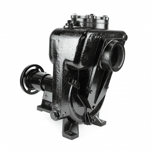 "Water Pump 4"" x 4"" Cast Iron - SELF PRIMING with Hydraulic Motor"