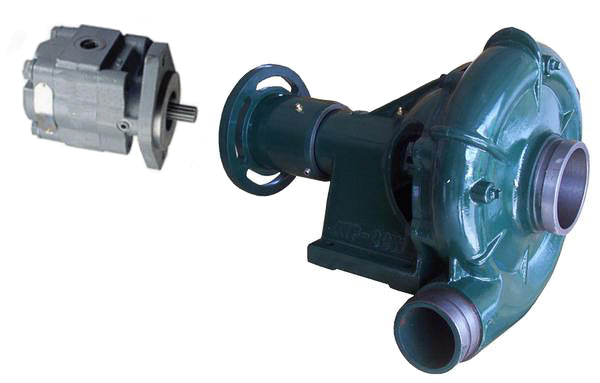 "Water Wise B3 Bare Shaft Hydraulic Water Pump Kit 100mm (4"") x 80mm (3"") - CW or CCW Rotation"