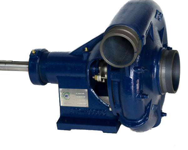 "Water Wise B3 Bare Shaft Water Pump 100mm (4"") x 80mm (3"") 2800L/min - CW or CCW Rotation"