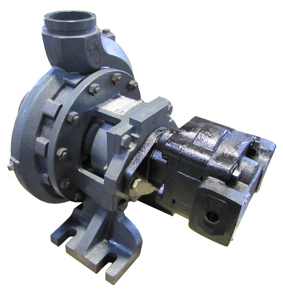 "Water Wise Hydraulic Driven Water Pump 100mm (4"") X 80mm (3"") - 3000 LPM with Stainless Steel Impeller & Spline Shaft"