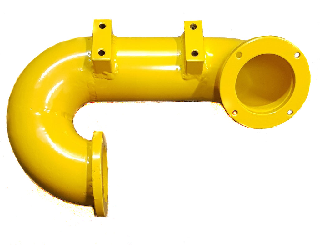 P651 & E651 Cannon Waterway Manifold - Painted Yellow