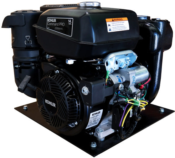Kohler 14HP Water Pump Electric Start w/ Frame and Battery 1350LPM - 43PSI