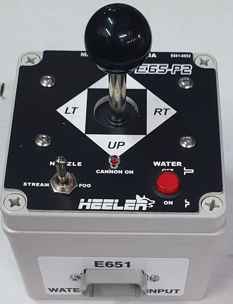 E651 Heeler Electric Cannon Control System Joystick Box - MADE IN AUSTRALIA