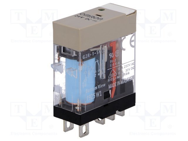 Mini Relay 12V DC - Electric Cannon