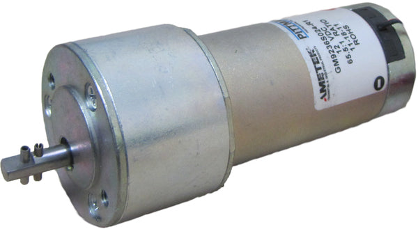 12V Large Cannon Motor with Roll Pins