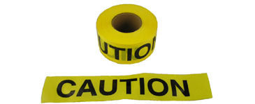 Barrier Tape 3 inch by 1000 feet - Pipeline Pro Supplies