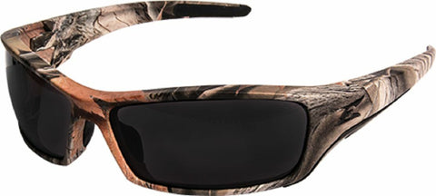 Edge Eyewear  Reclus Forest Camo Frame / Smoke Lenses - Safety Glasses - Pipeline Pro Supplies
