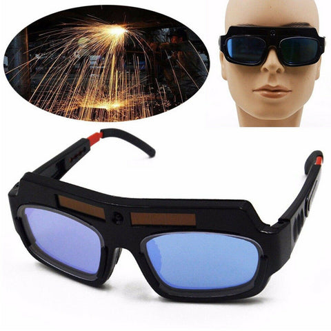 Solar Powered Auto Darkening Welding Glasses - Pipeline Pro Supplies