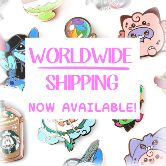 International Shipping is Here!