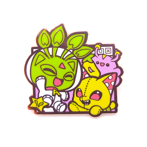Alien and Plushie Neopets Pin