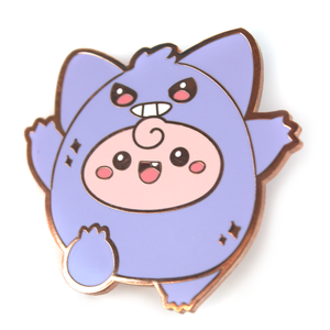 Clefable as Gengar Pin