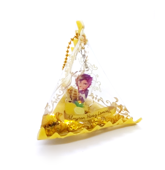 Claude Tea Bag Charm