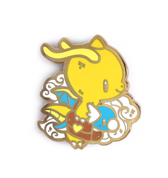 Dragonite and Dratini Pin