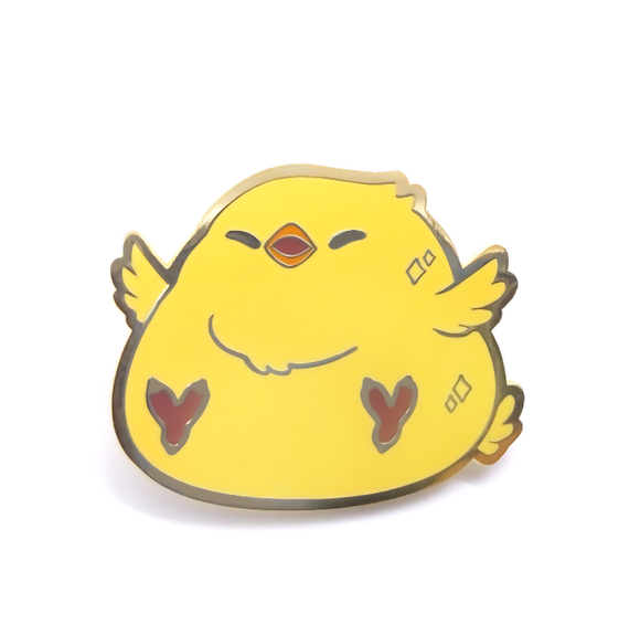 Chubby Chocobo Chick Pin