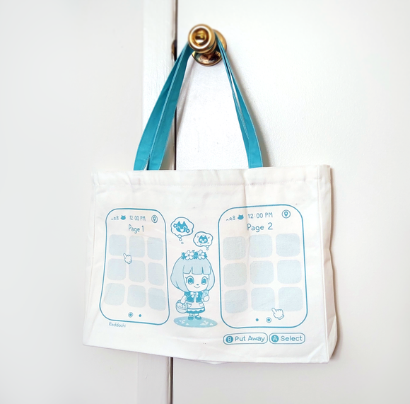 New Horizons Deluxe Pin Tote Bag
