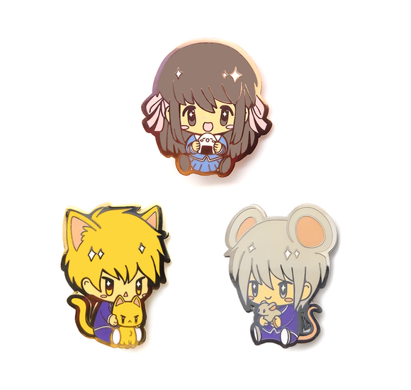 Fruits Basket Pin Set