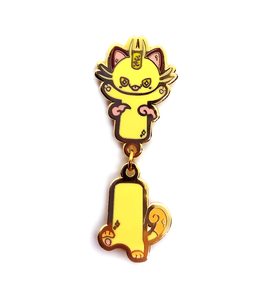 Gigantimax Meowth Dangling Pin