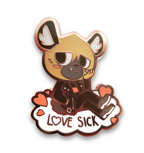 Haida Love Sick Pin