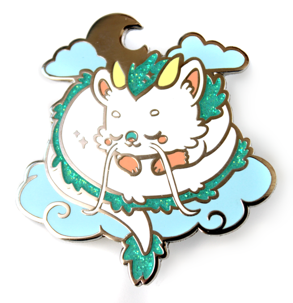 Sleepy Haku Pin