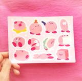 Kirby Moods Sticker Sheet