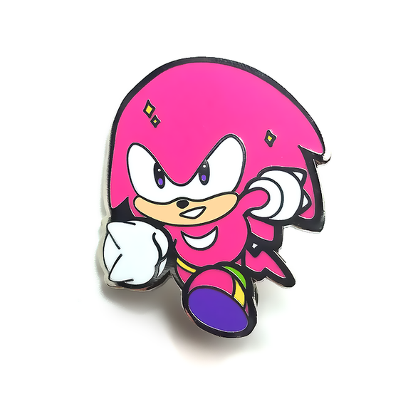 Knuckles the Echidna Pin
