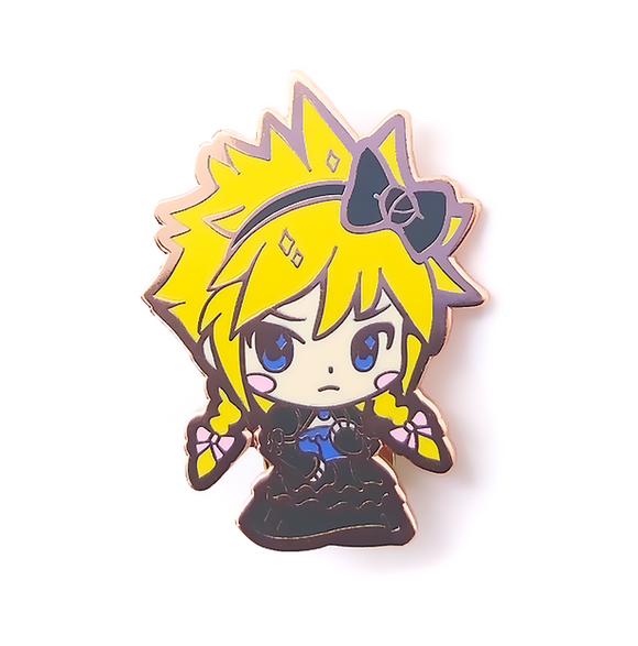 Lady Cloud Pin