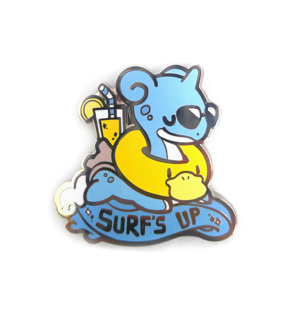 Lapras Surf's Up Pin