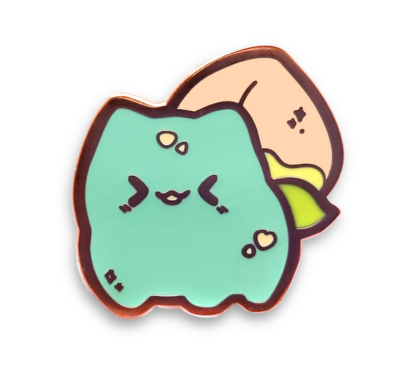 Peach Bulbasaur Pin