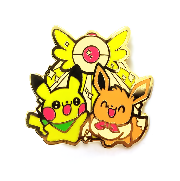 Pokemon Mystery Dungeon Pikachu & Eevee Pin