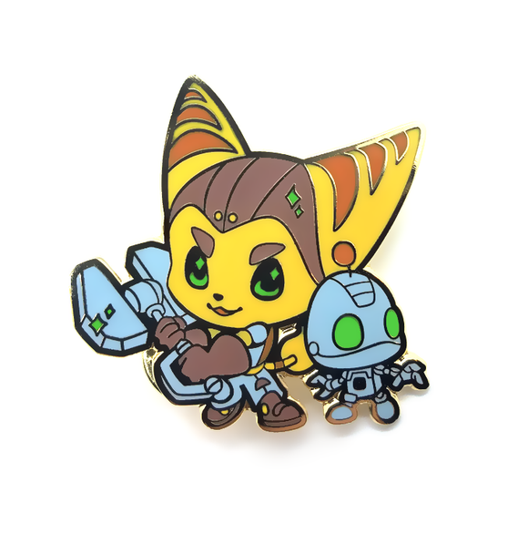 Ratchet & Clank Pin