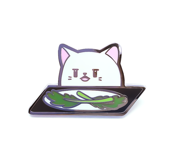 Smudge the Cat Pin