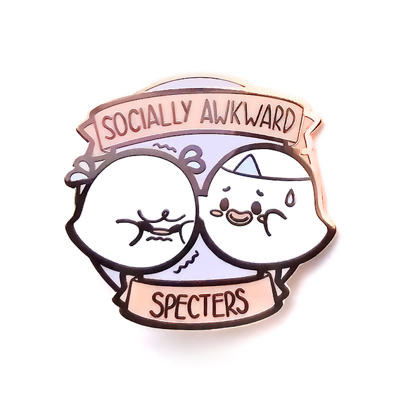 Socially Awkward Specters Pin