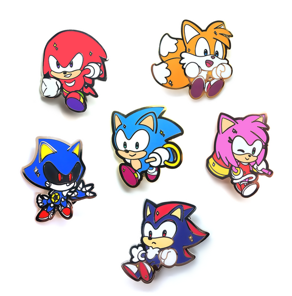 Sonic the Hedgehog Pins Vol. 1