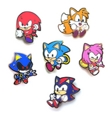 Sonic the Hedgehog Pins