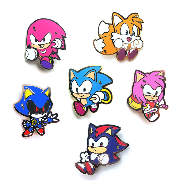 Sonic Series Pin Bundle