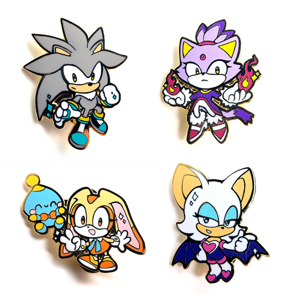Sonic the Hedgehog Pins Vol. 2