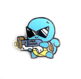 Squirtle Used Watergun Pin