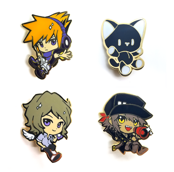 The World Ends With You Pins