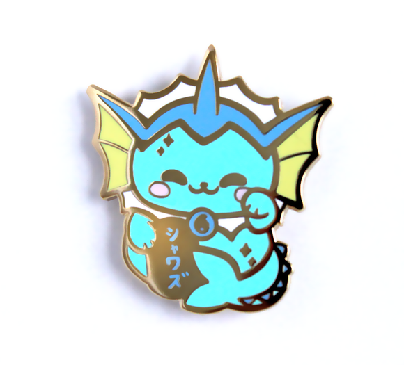 Vaporeon Maneki Pin