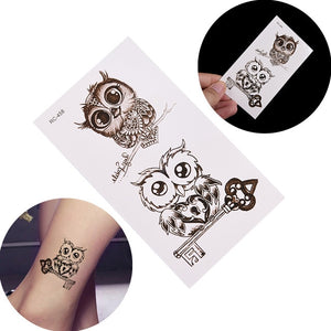 3D Waterproof Temporary Exotic Tattoo Stickers