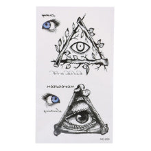 Load image into Gallery viewer, 3D Waterproof Temporary Exotic Tattoo Stickers