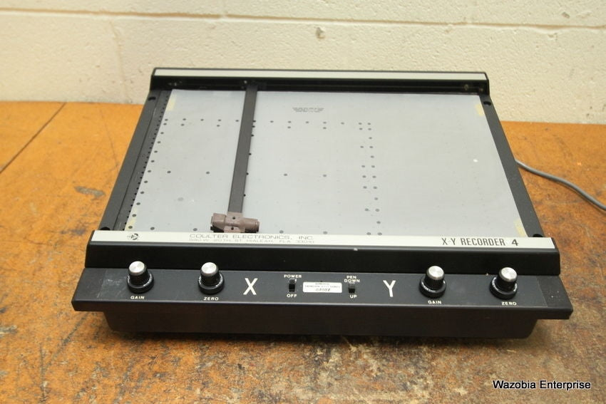 COULTER ELECTRONICS X-Y RECORDER 4